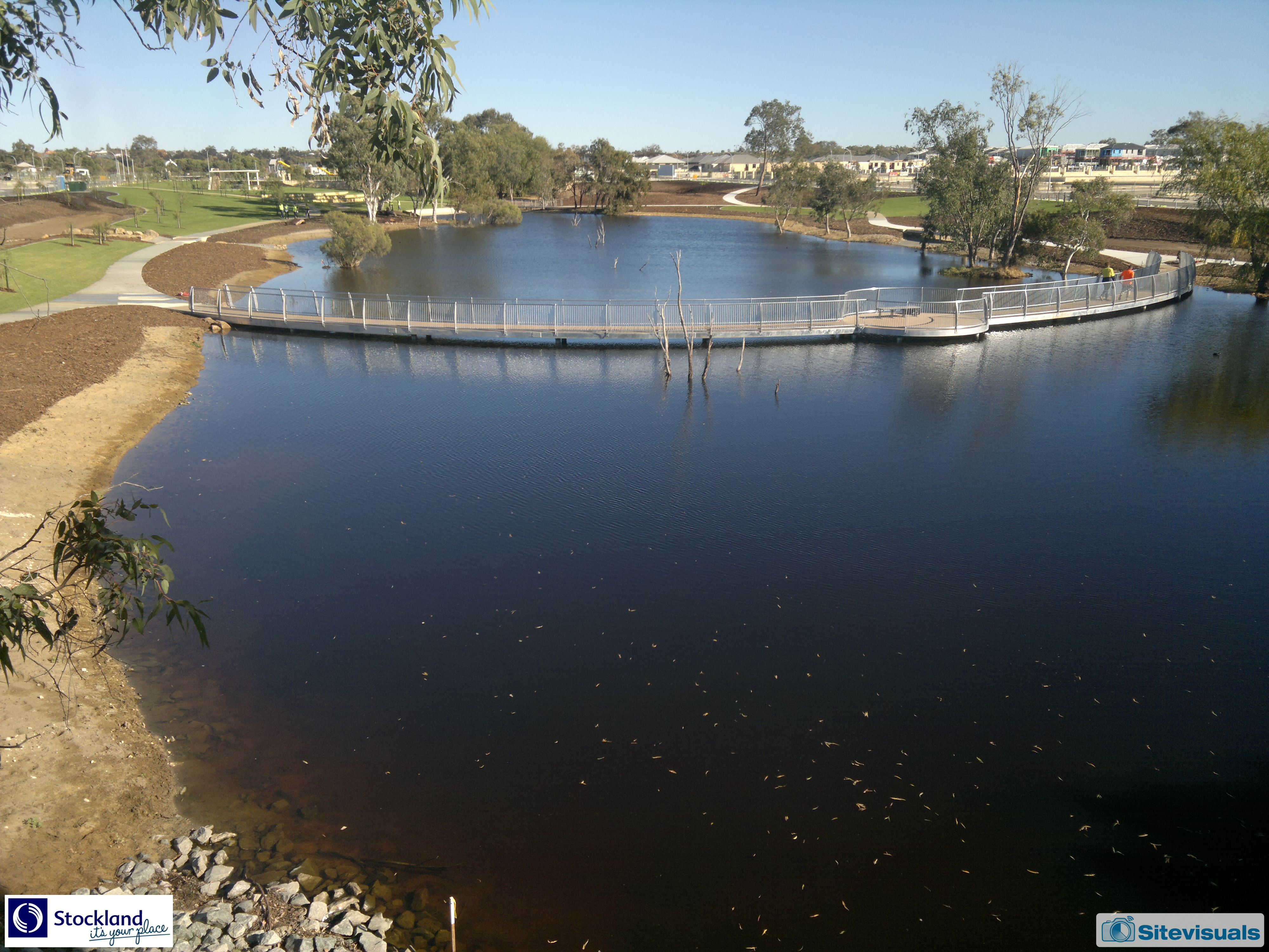 Aveley, Aviary Creek (East) (Finished), 21-May-2018 9:45 am